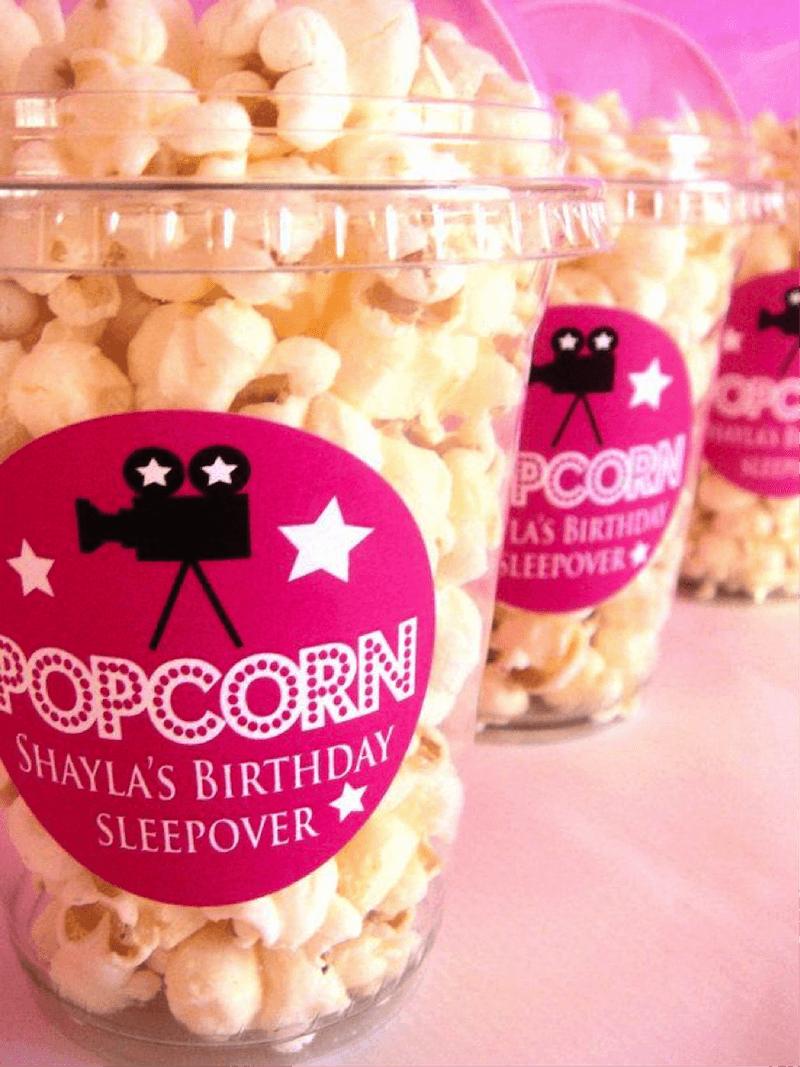 Come organizzare un pigiama party perfetto pop corn | Ideas for ...