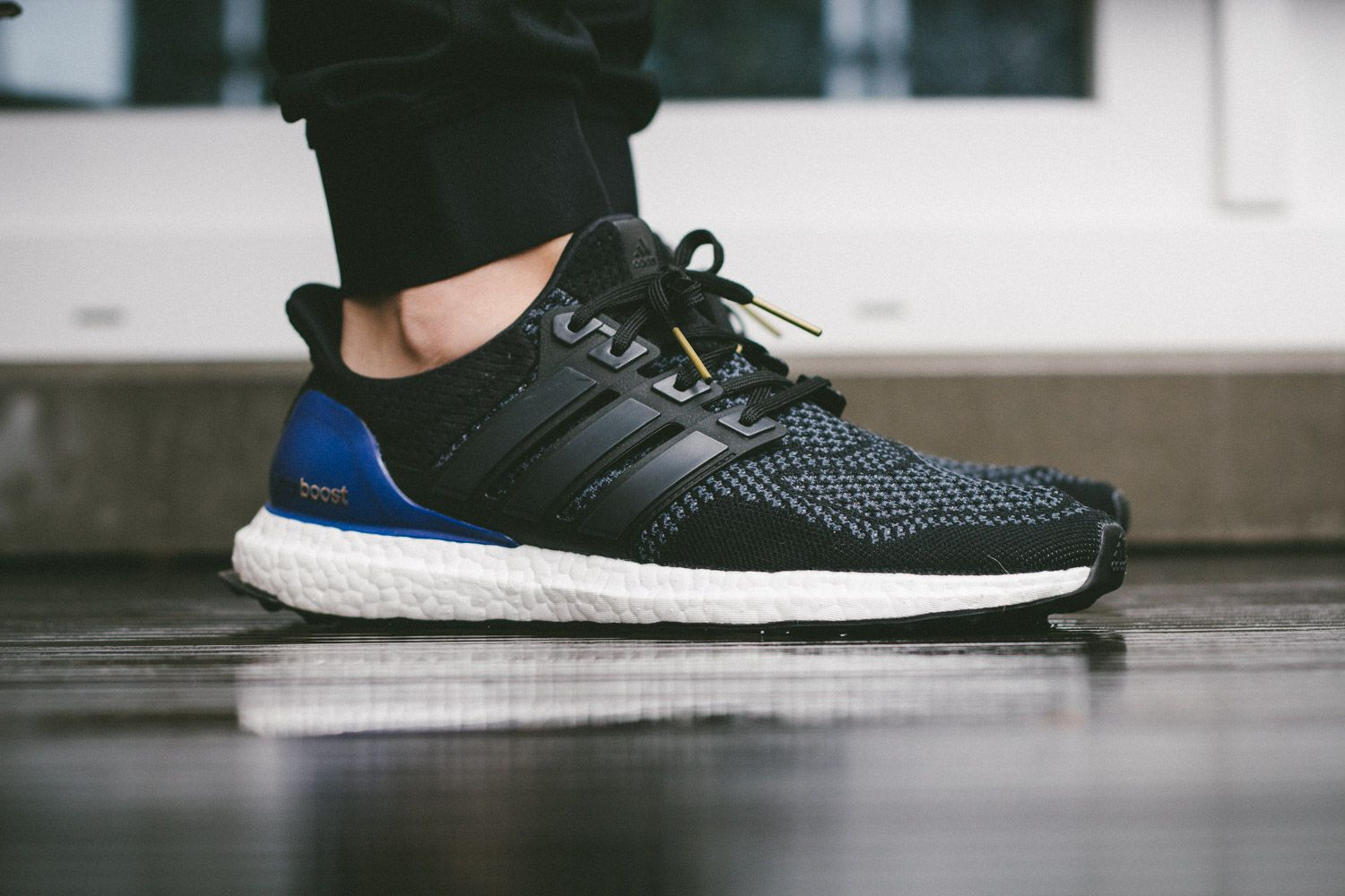 c79f7d114b42 adidas Ultra Boost – Black   Blue Review