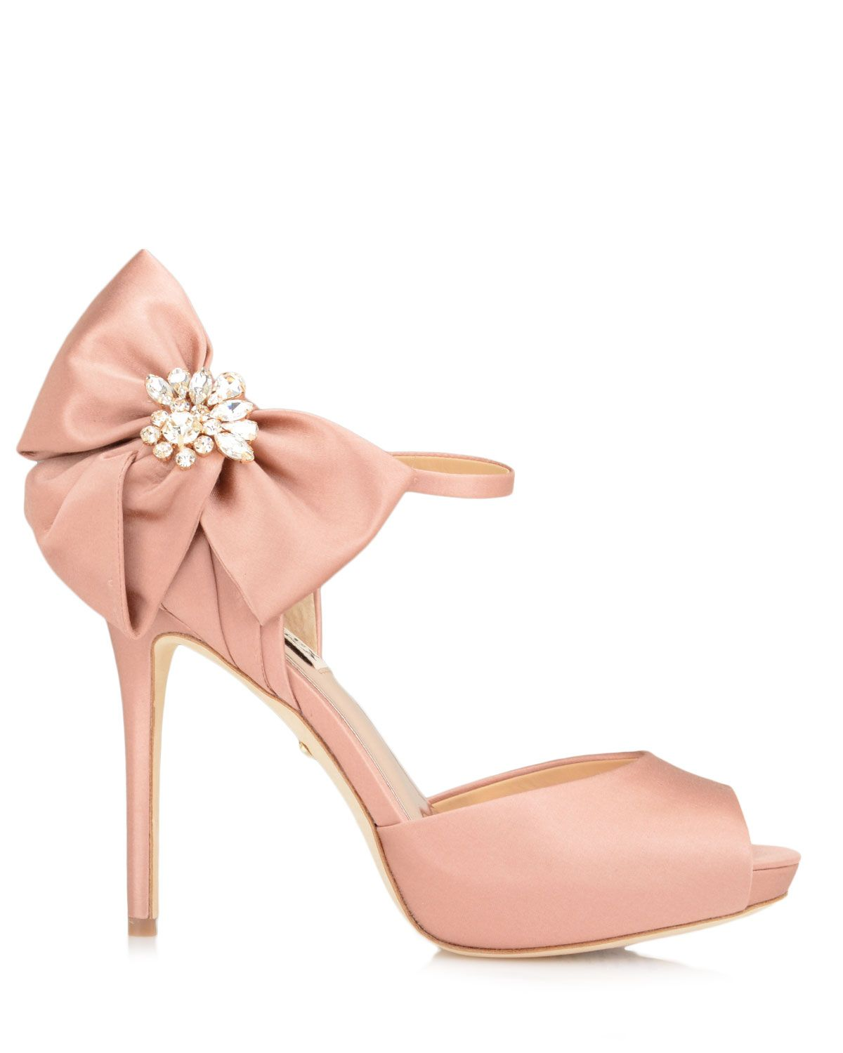 759d9628645 Samra Bow Accent Evening Shoe