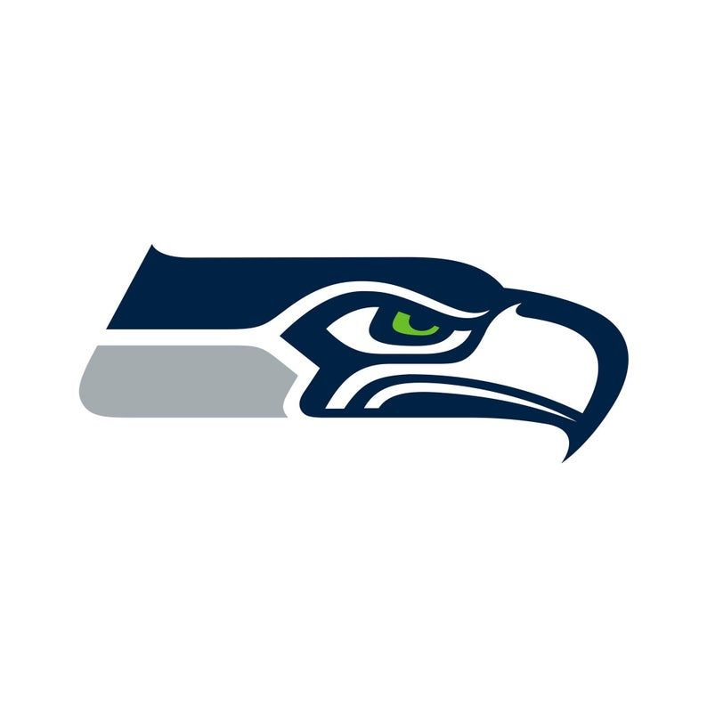 Seattle Seahawks Logo Svgeps And Png File Instant Download Etsy Seattle Seahawks Logo Seattle Seahawks Nfl Seattle