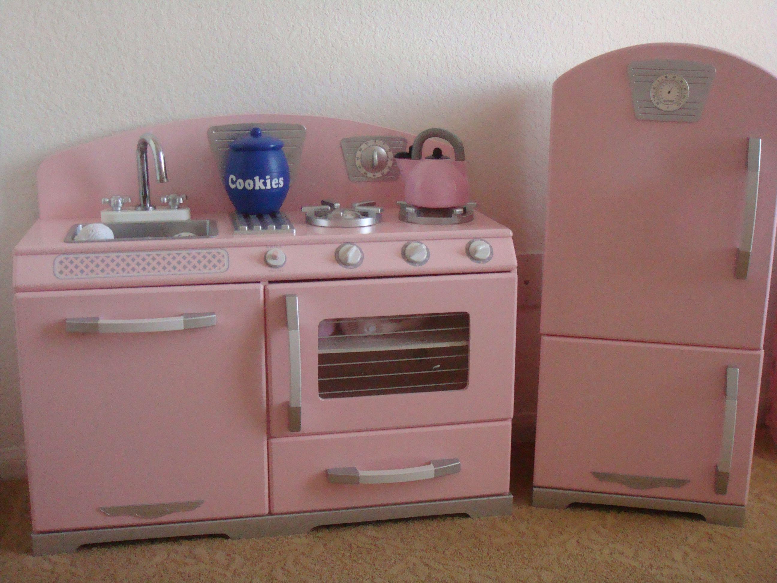 Kidkraft pink retro kitchen ava lynn pinterest toy nursery