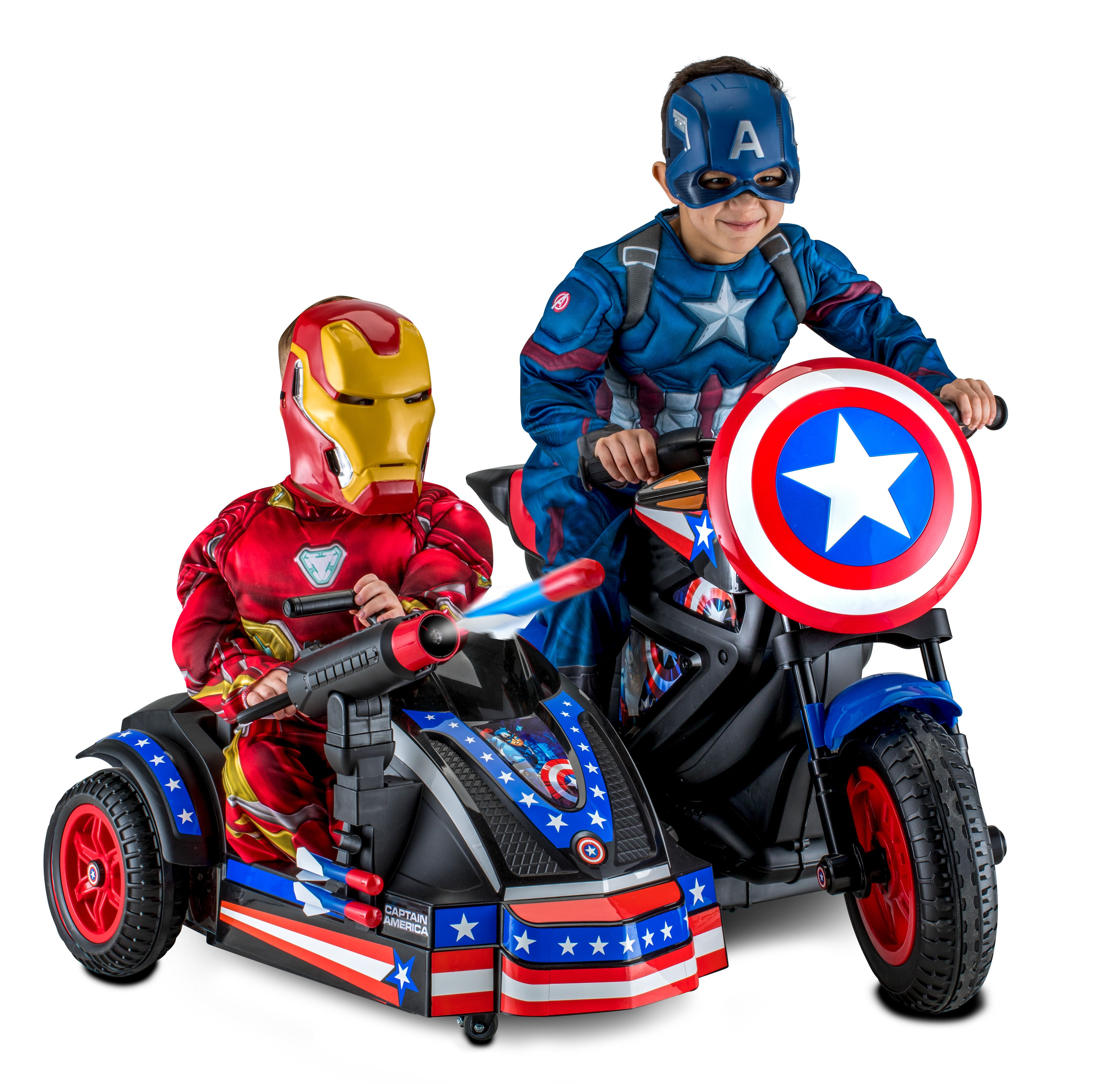 Captain America Motorcycle Ride On Only 179 Reg 249 For A Limited Time Only Walmart Has The Captain America Motorcycle Ride On Toys Captain America