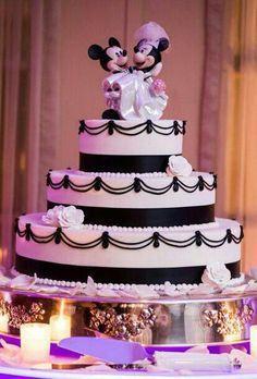 Gateau wedding cake mickey