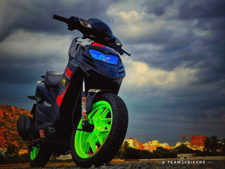 Aprilia Sr 150 Modified Team24bikers 24bikers Mujju24
