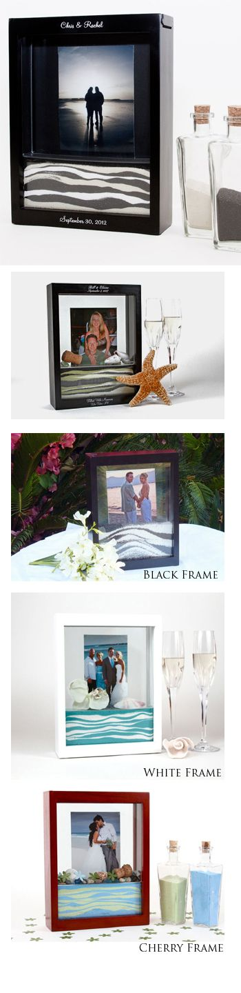 Unity Sand Ceremony Frame | My Beach Wedding (For Real!) by ...