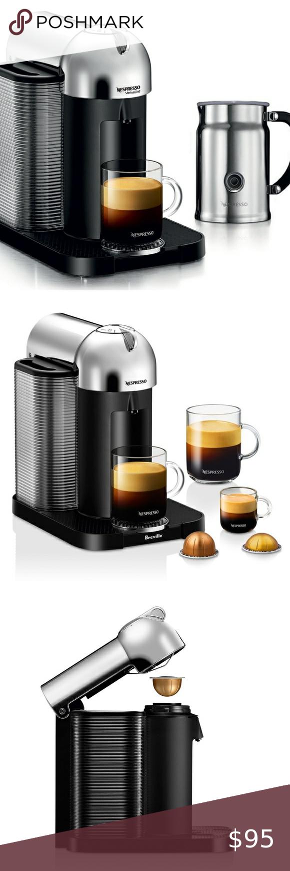 Nespresso Vertuo Chrome Aeroccino Milk Frother In 2020 Milk
