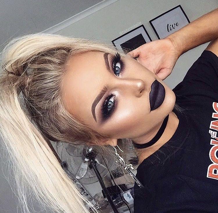 Grunge makeup   Hair makeup, Gorgeous makeup, Beauty makeup