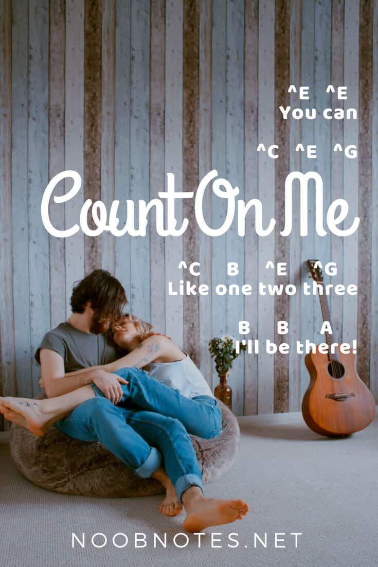 Count on Me - Bruno Mars #pianomusic