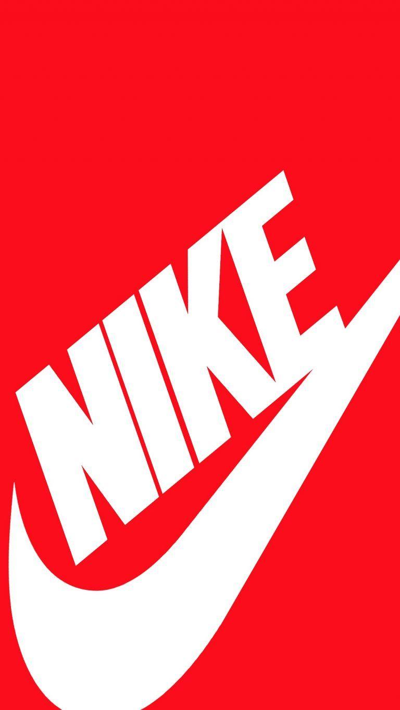 Nike Iphone Wallpaper Red ナイキ 待ち受け Nike ロゴ Iphone 用壁紙