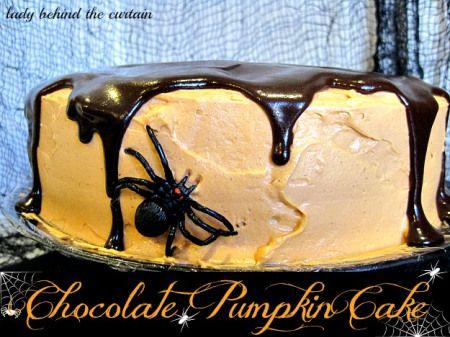 Chocolate Pumpkin Cake | Holiday Cottage