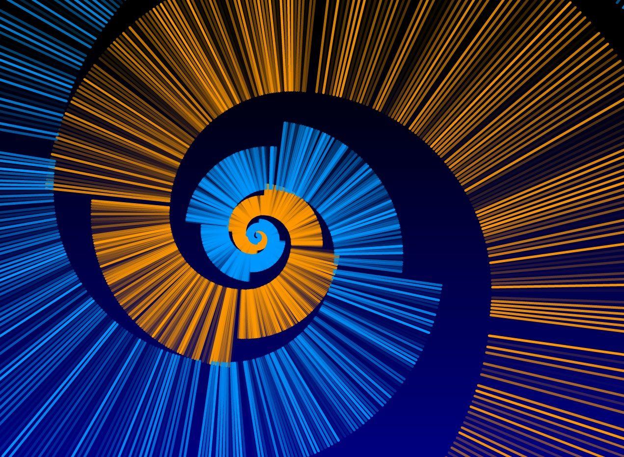 The Fibonacci Sequence in Art   Spiral art, Fibonacci art