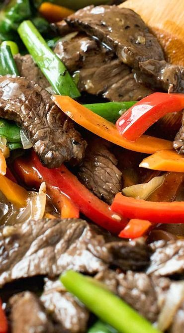 Easy Classic Chinese Beef Stir Fry