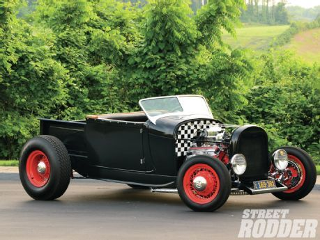 1928 Ford Roadster Pickup Right Side