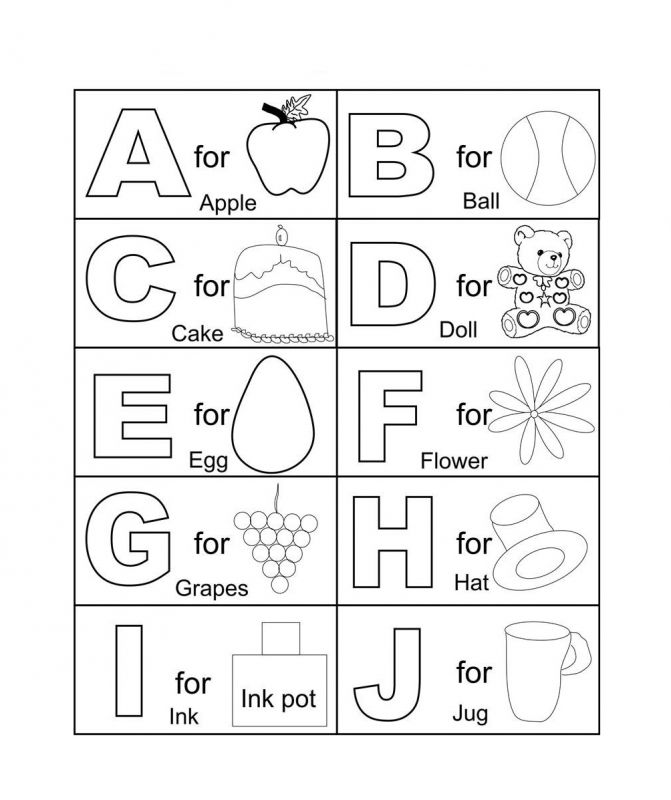 Alphabet Coloring Worksheets For Preschoolers Coloring Alphabet Coloring Pages For Toddlers Ad9 Kindergarten Coloring Pages Abc Coloring Pages Abc Coloring