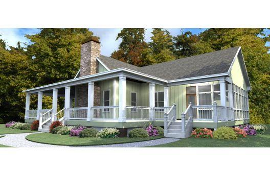 Moderna casa de campo de una planta, tres dormitorios y 203 metros cuadrados,