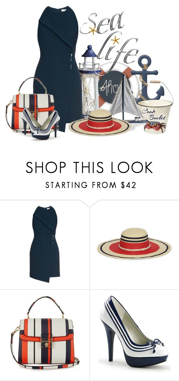 """""""Sea Life"""" by prim-263 ❤ liked on Polyvore featuring Balenciaga, Ralph Lauren and Dolce&Gabbana"""