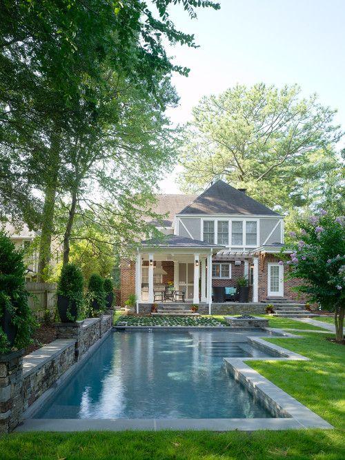 Georgianadesign Home Rebuilders Design Build Atlanta Ga Pools Pinterest Swimming