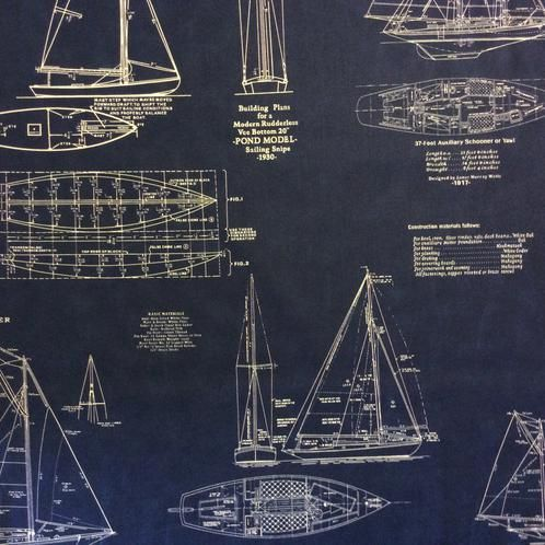 Boat blueprint fabric for reupholstering blueprints 1116 pinterest boat blueprint fabric for reupholstering malvernweather Gallery