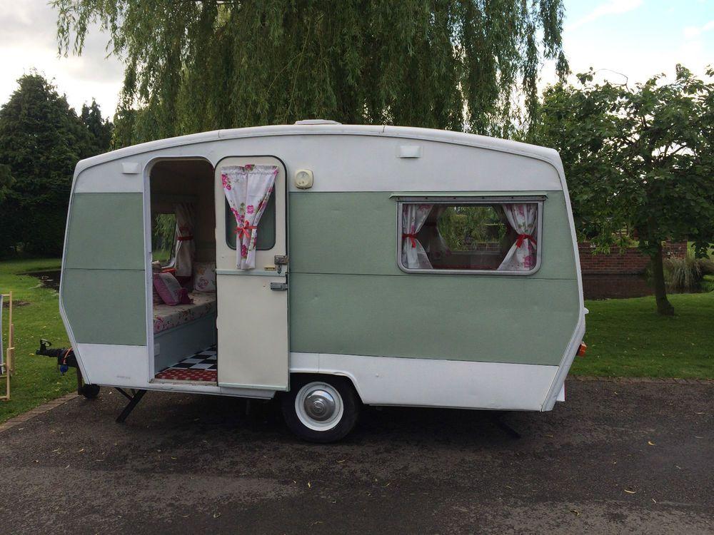 Vintage Classic Sprite Caravan FULLY RESTORED shabby chic