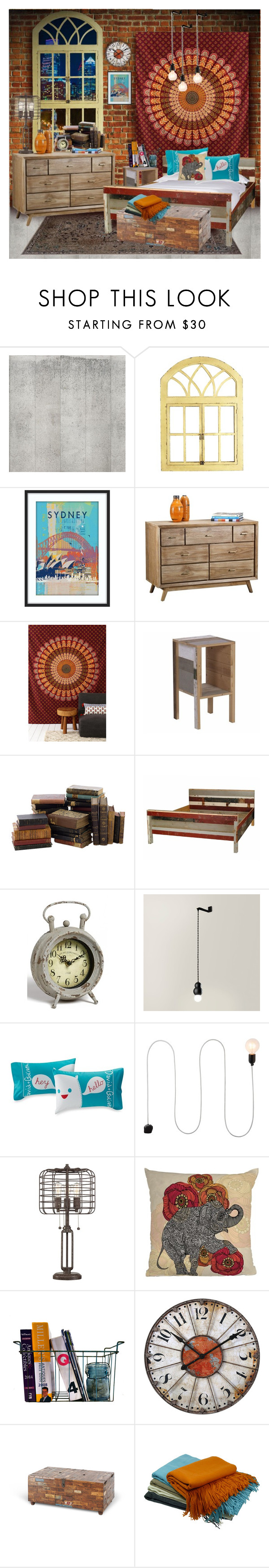 """patterns"" by rotunda ❤ liked on Polyvore featuring interior, interiors, interior design, home, home decor, interior decorating, WALL, NLXL, Franklin and Pier 1 Imports"