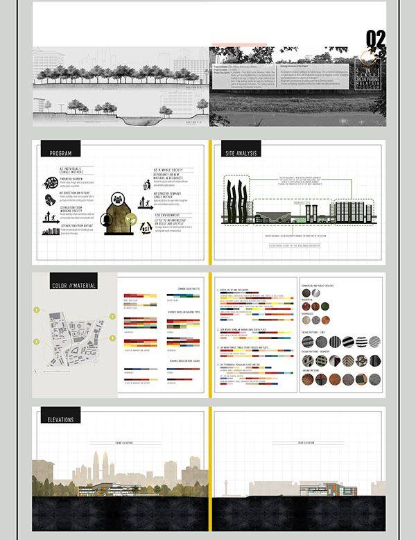 Behance architecture undergraduate portfolio on behance for Architecture portfolio dimensions