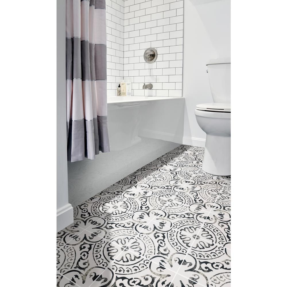 Msi Paloma Encaustic 8 In X 8 In Glazed Porcelain Floor And Wall