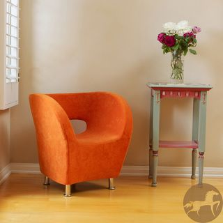Christopher Knight Home Modern Orange Microfiber Accent Chair Sale $168.29  Rating 4.6 Item #: 13731508