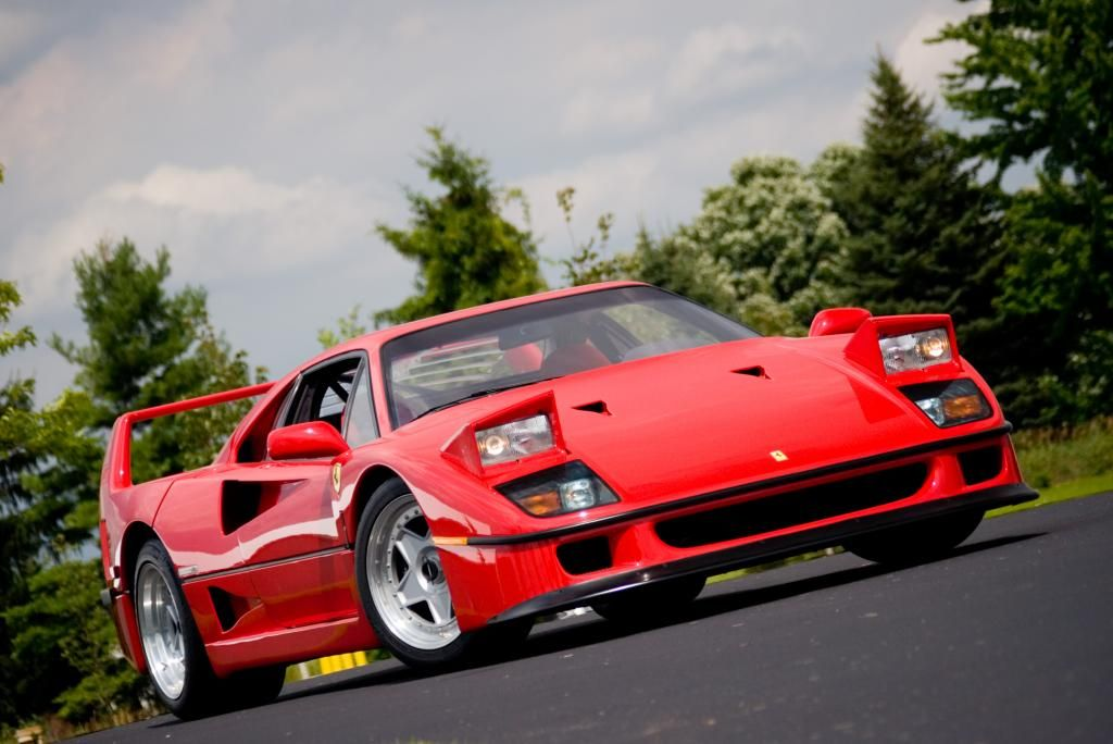 The Ten Best Italian Cars Ever Made - 3. Ferrari F40   Best of the ...