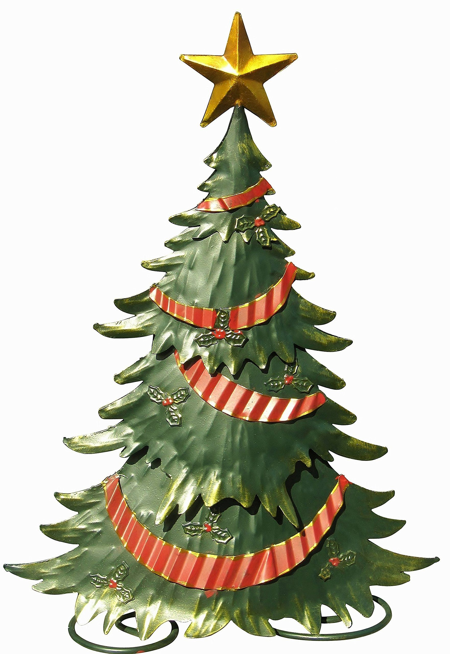 Embossed Christmas Tree Statuary - 18\