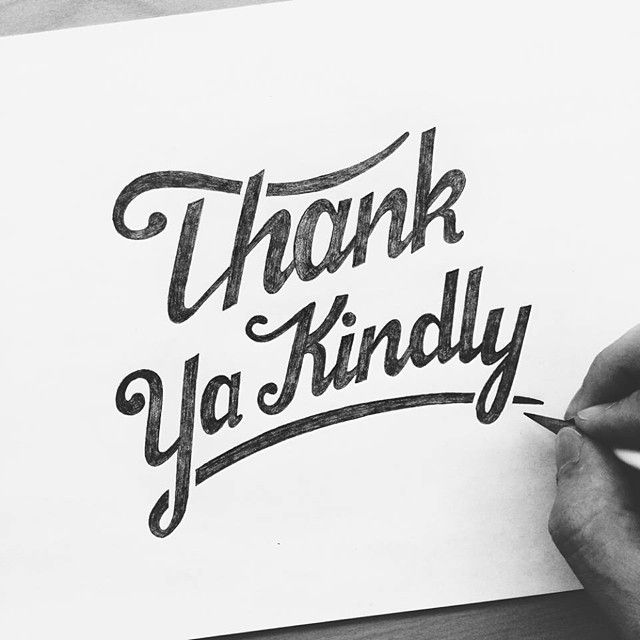 A big thanks to all of the people that support me on here and care about what I'm doing. Instagram alone has given me a lot of opportunities and connections that I never thought I'd have. So thank you! #handlettering #handdrawn #lettering #typography #script #sketch #goodtype #typographyinspired #typespire