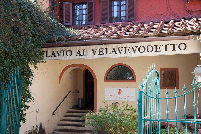 Flavio Al Velavevodetto, Testaccio  Classic roman cooking