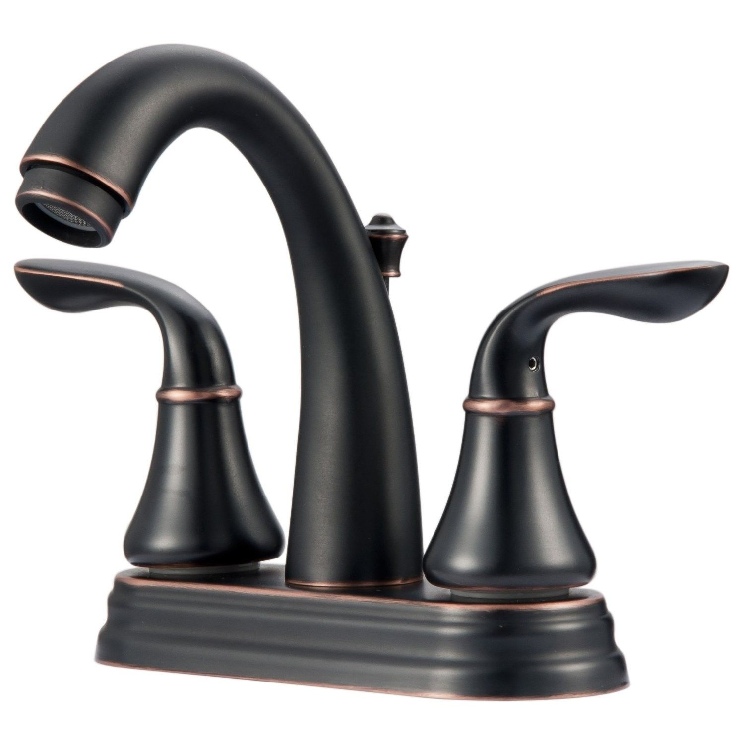 Ultra Faucets UF45725 Centerset Bathroom Sink Lavatory Faucet, Oil ...