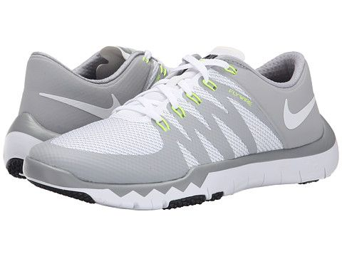 the latest 827de 09827 Nike Free Trainer 5.0 V6 White/Wolf Grey/Metallic Silver ...