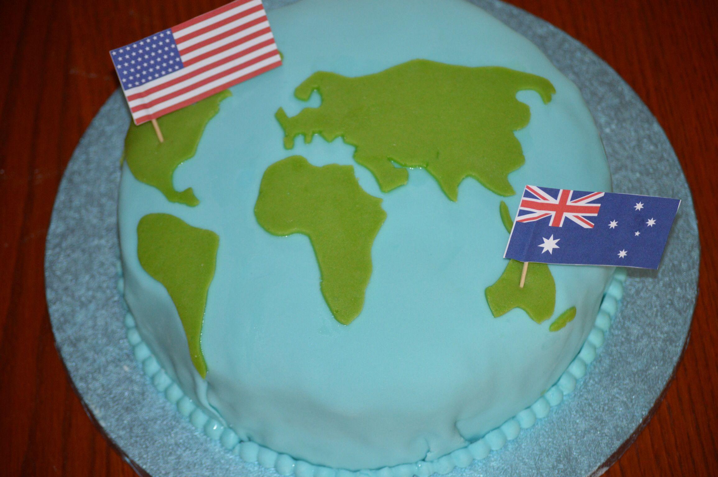 World map travel cake yummy stuff pinterest travel cake cake world map travel cake gumiabroncs Gallery