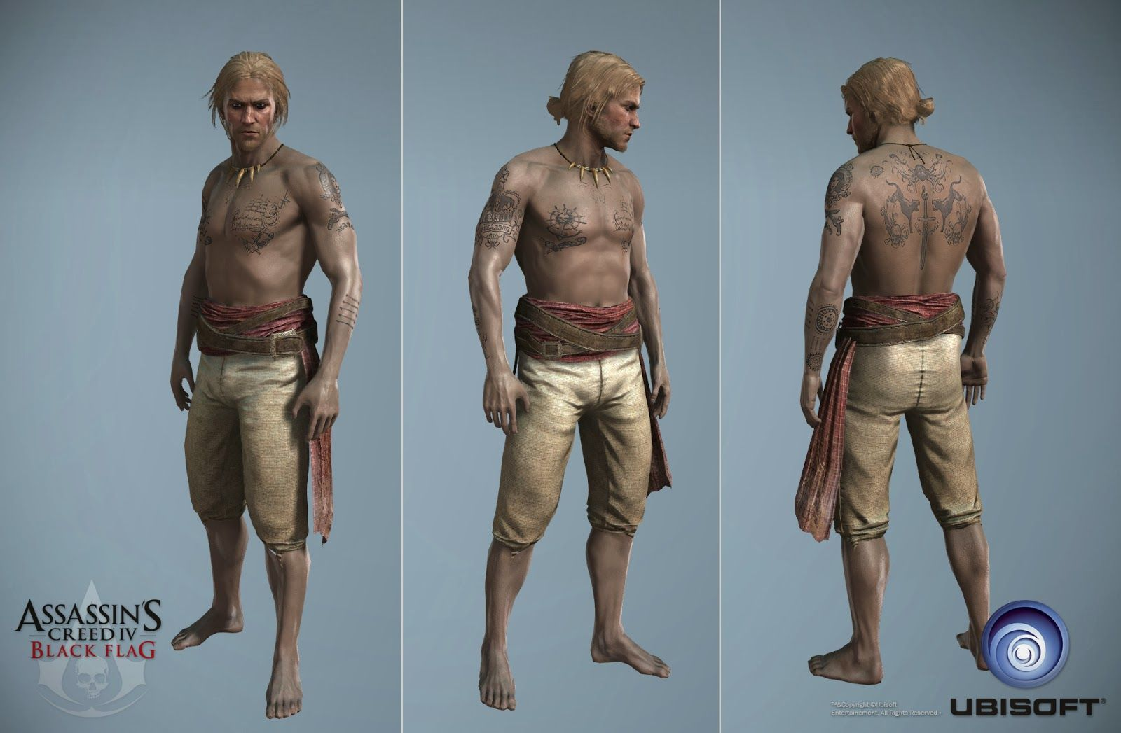 Character Art Assassin S Creed Iv Black Flag Assassins Creed