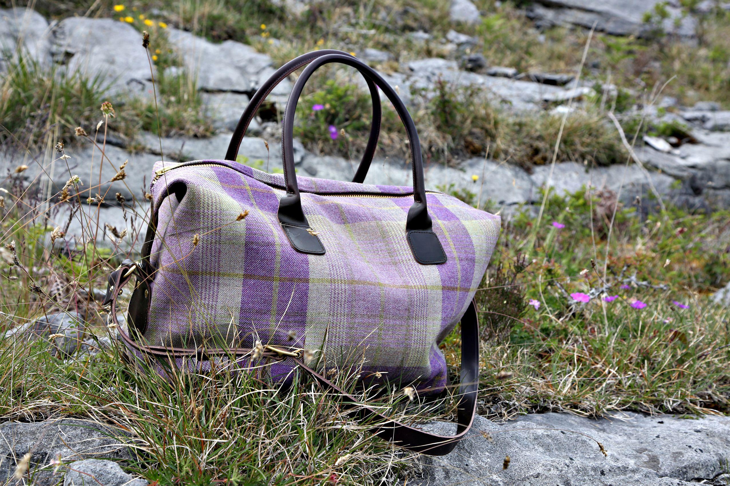 Rannoch Weekend Bag, photographed in The Burren, Ireland. ANTA ...