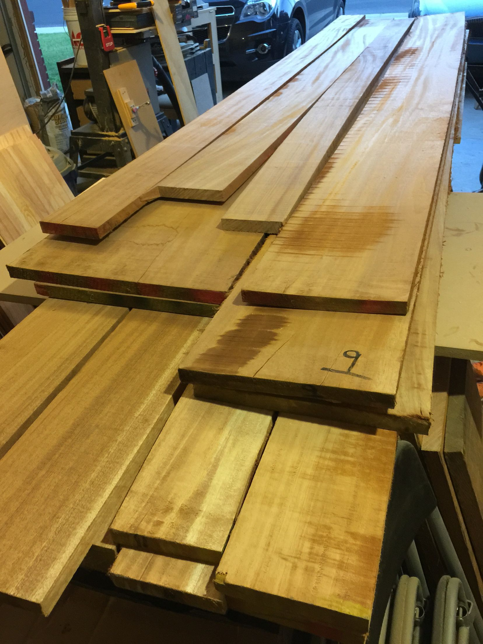 African Mahogany Wood For My Son S Baby Crib He Is Due In September 2016 There Is 100 Board Feet Of African Mahogany Wood Beautiful Wood Mahogany Wood