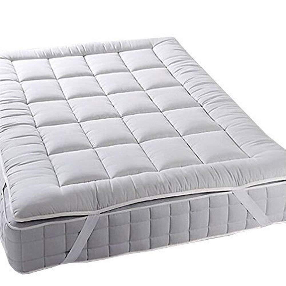 Mattress Topper Bed Pad Cover Hypoallergenic Plush Soft Pillow Top Soft Thick 2 Mattress Topper Mattresstopper
