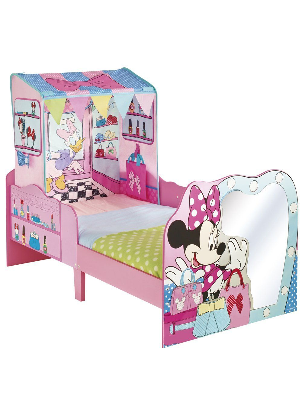Disney Minnie Mouse Toddler Bed And Canopy By Hellohome Amazon Co
