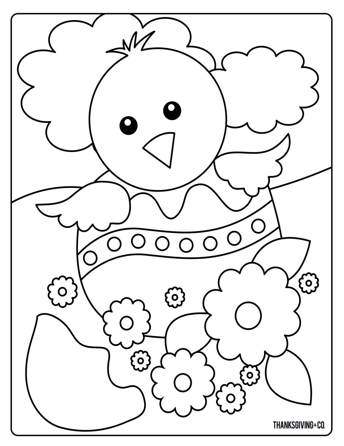 Sweet And Sunny Spring Easter Coloring Pages Easter Coloring Book Easter Coloring Pages Printable Unicorn Coloring Pages