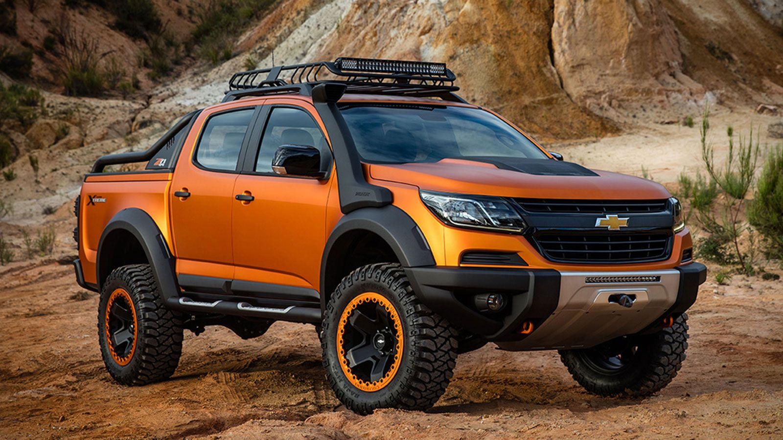 Chevrolet colorado xtreme famous for its muscle cars the american car manufacturer