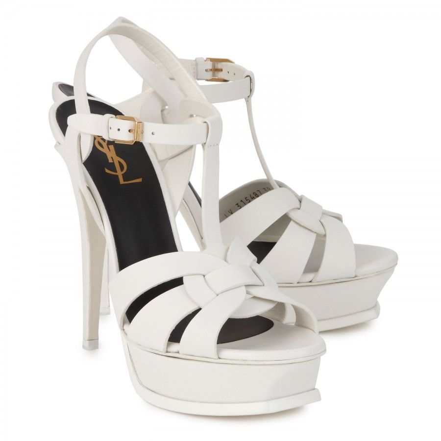 Www Ysl 105 Tribute Leather Wedding Shoes Bridal Bride Luxury Haute Couture