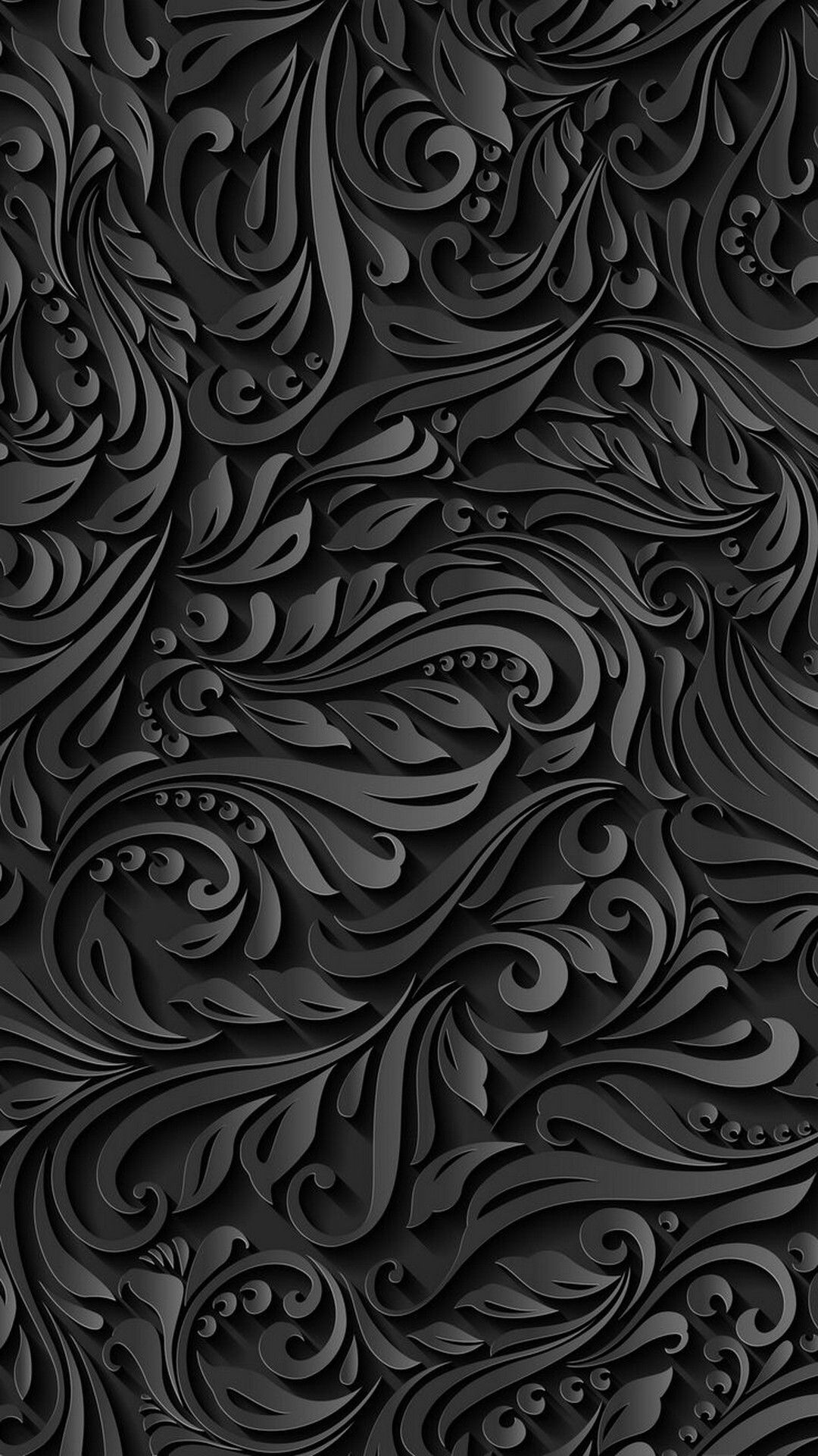 2018 Download Black Pattern iPhone Wallpaper Full Size - 3D iPhone Wallpaper