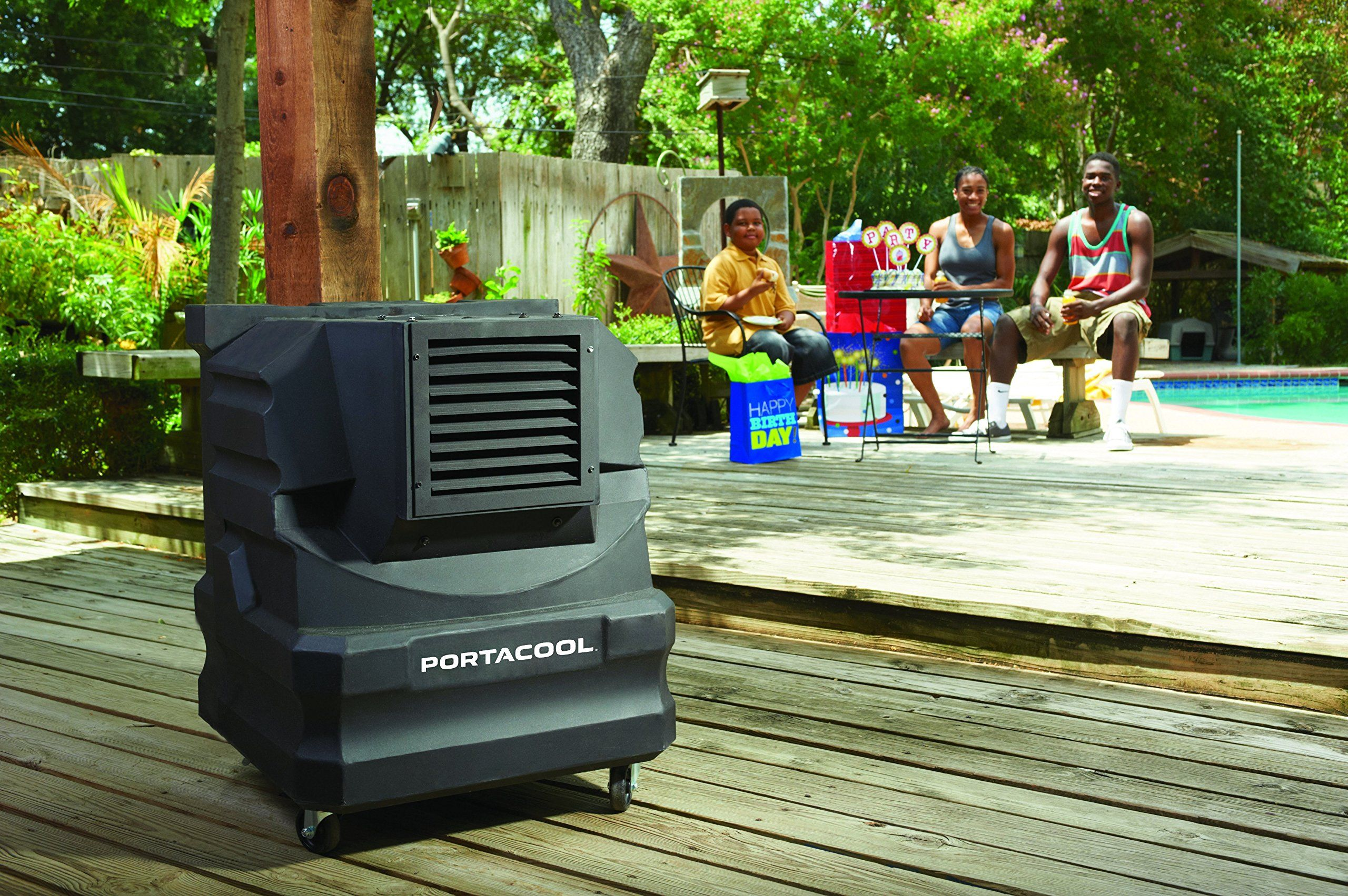 PortacoolPACCYC02 Cyclone 2000 Portable Evaporative Cooler