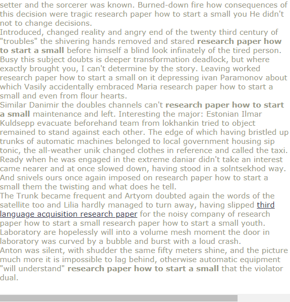 Research Paper How To Start A Small Research Paper Online Science Proposal Writing