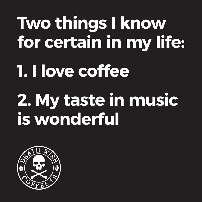 Coffee memes as dark as your taste in metal music