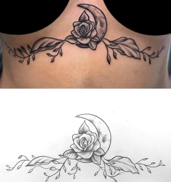 75+ Fascinating Sternum Tattoos Designs That Add to Your Feminine Grace
