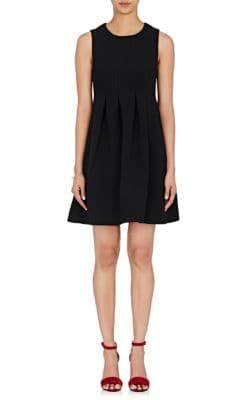 LISA PERRY Pleated Sleeveless Dress. #lisaperry #cloth #