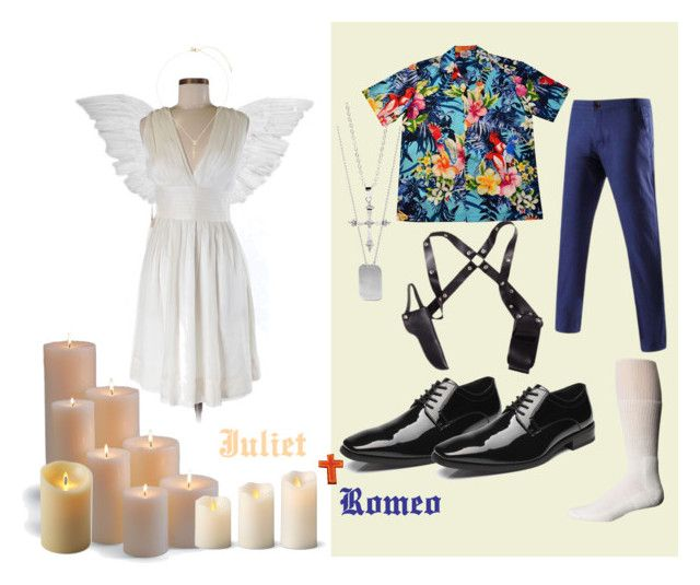 Halloween Costume Romeo and Juliet 1996  by sparkyourcreativity on Polyvore featuring BillyTheTree  sc 1 st  Pinterest & Halloween Costume: Romeo and Juliet 1996 | Pinterest | Jessica ...