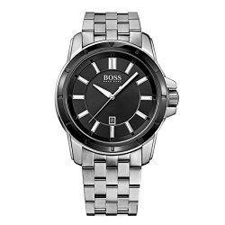 Hugo Boss Black Dial Stainless Steel Unisex Watch 1512924